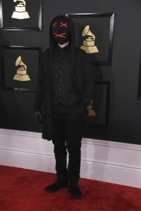 Lipless at the 59th Annual Grammy Awards at the Staples Center in Los Angeles on February 12, 2017.