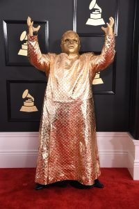 Cee Lo Green at the 59th Annual Grammy Awards at the Staples Center in Los Angeles on February 12, 2017.