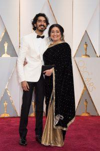 Dev Patel and mother Anita Patel