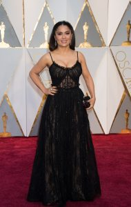 Salma Hayek at the 89th Annual Academy Awards at the Dolby Theatre in Los Angeles, on February 26, 2017.