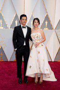 John Cho and wife Kerri Higuchi