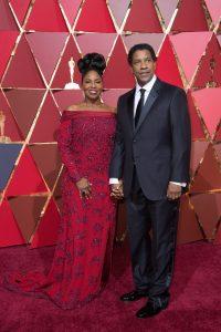 Denzel Washington, and wife Pauletta Washington