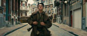 """Fionn Whitehead in """"Dunkirk"""" (Photo by Melinda Sue Gordon)"""