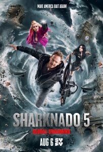 """Sharknado 5: Global Swarming"" (Photo by James Dimmock/Syfy)"