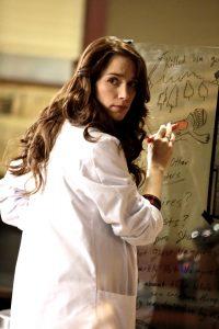 "Melanie Scrofano in ""Wynonna Earp""(Photo by Michelle Faye/Syfy)"