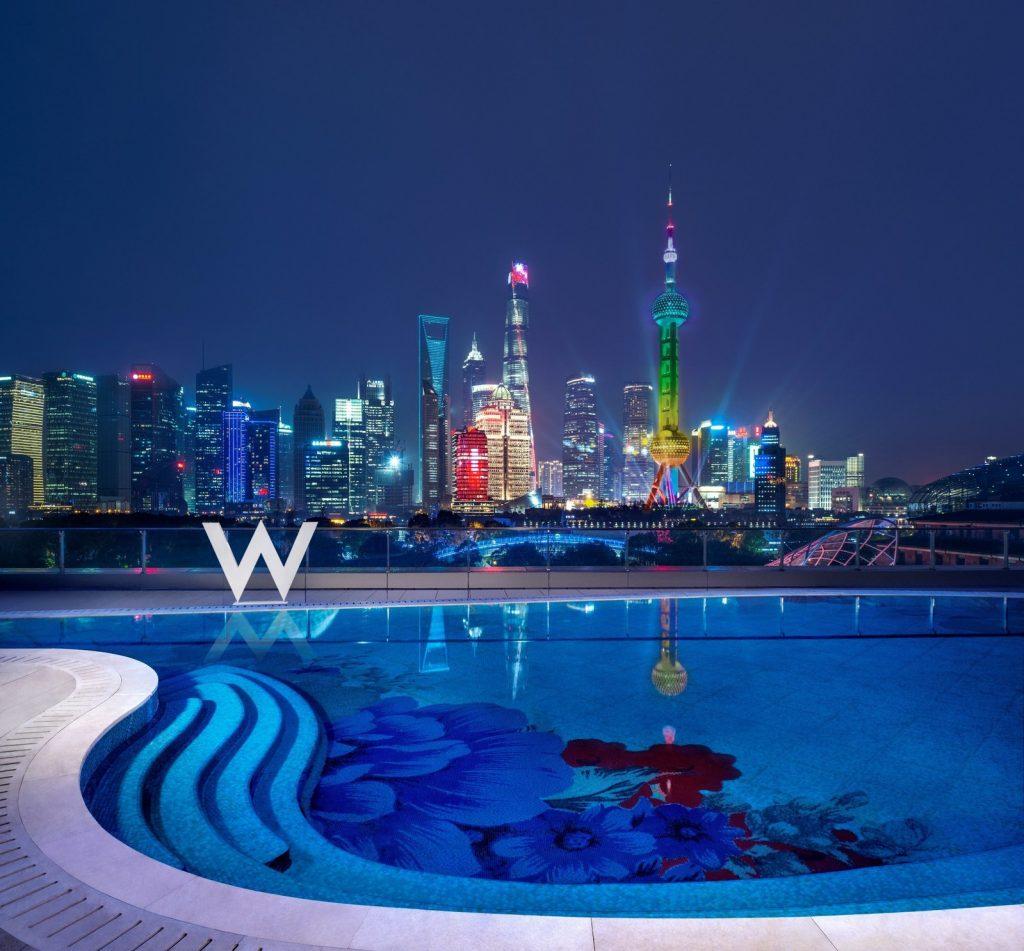 The WET Deck at W Shanghai - The Bund.