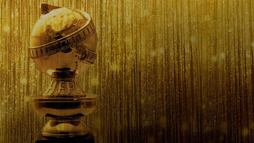Golden Globe Awards trophy