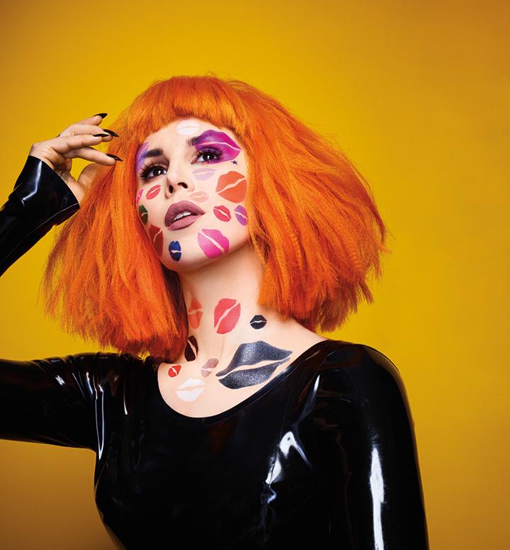 Kat Von D in Kiss Me All Over – Kat Von D's Studded Kiss Vegan Lipstick Campaign