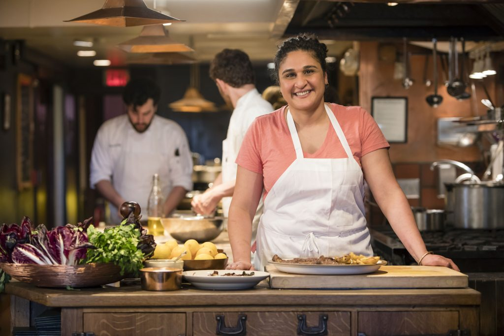 "Samin Nosrat of ""Salt, Fat, Acid, Heat"""