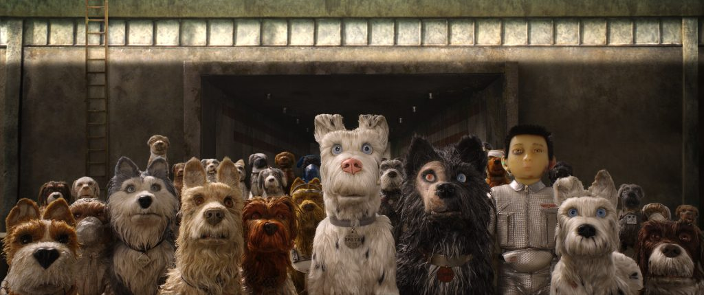 "A still from ""Isle of Dogs"" (Image courtesy of Fox Searchlight Pictures)"