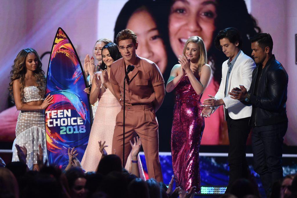 """Riverdale"" stars at the 2018 Teen Choice Awards"