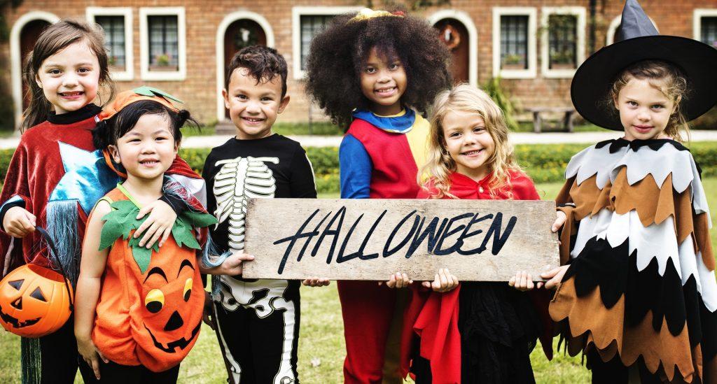 Halloween children party