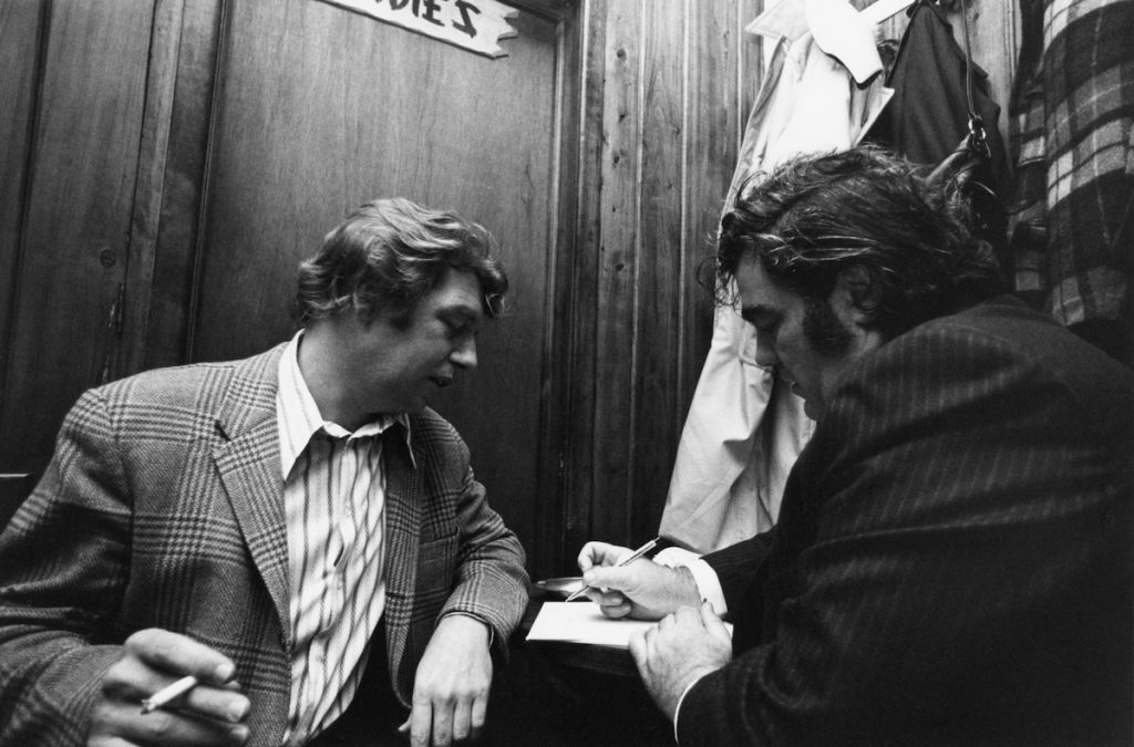 "Pete Hamill and Jimmy Breslin in ""Breslin and Hamill: Deadline Artists"""
