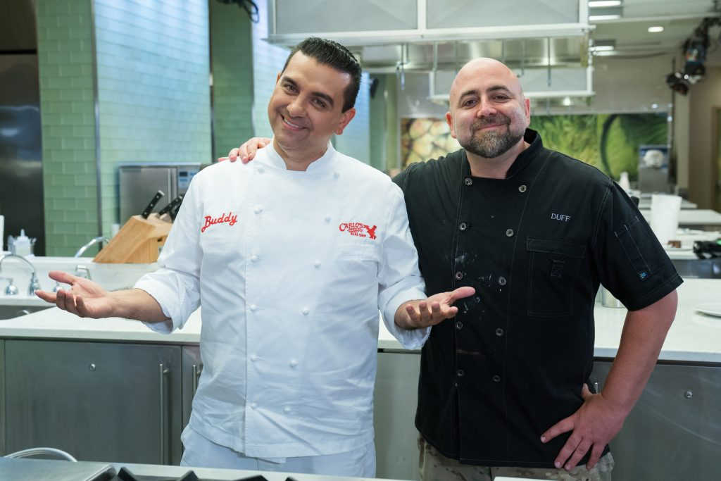 Buddy Valastro and Duff Goldman