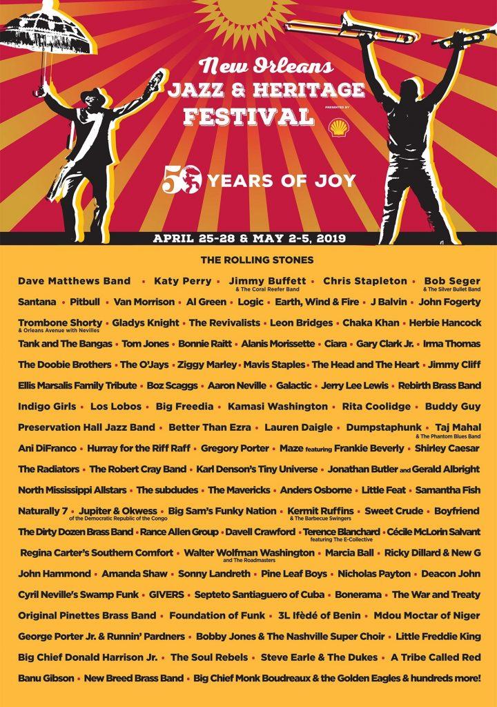 New Orleans Jazz & Heritage Festival Jazz Fest