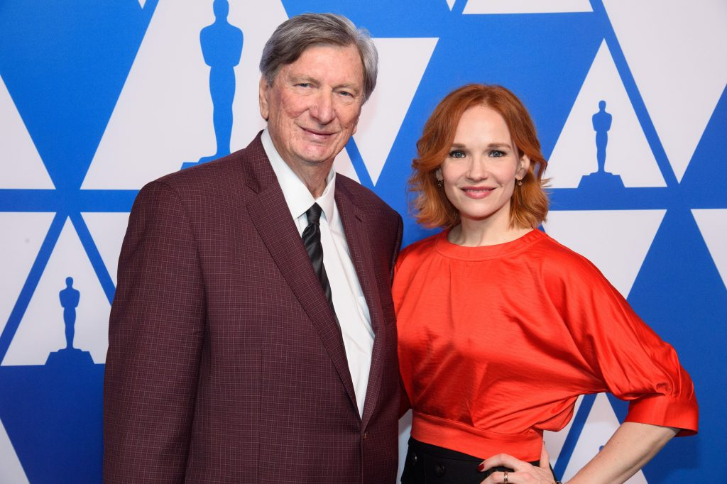 Academy president John Bailey and Oscar nominee Marianne Farley