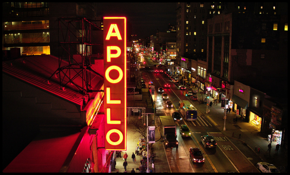 The Apollo Theater in New York City's Harlem