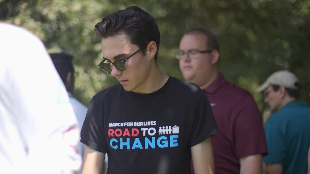 "David Hogg in ""After Parkland"""