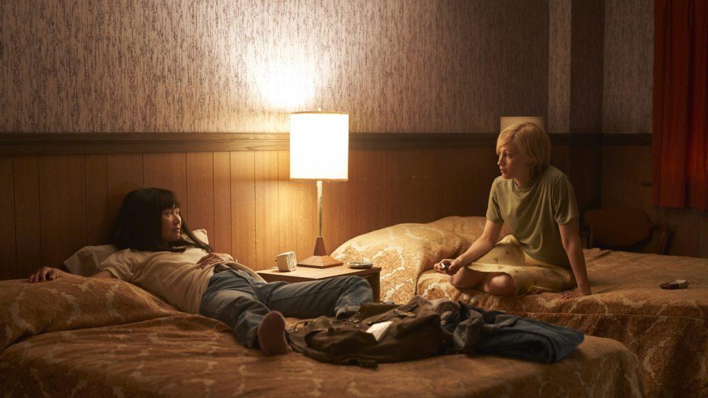"Hong Chau and Sarah Gadon in ""American Woman"""