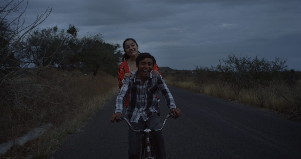 "Regina Reynoso and Eduardo Banda in ""The Gasoline Thieves"""