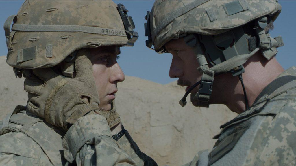 """Nat Wolff and Alexander Skarsgård in """"The Kill Team"""""""