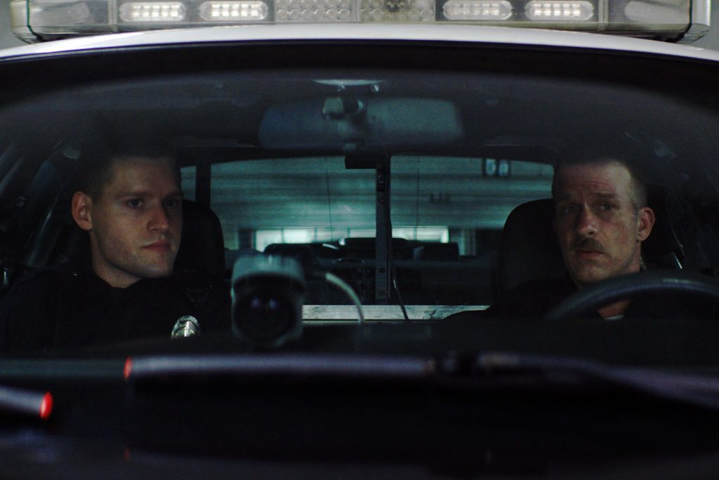 "Luke Kleintank and Thomas Jane in ""Crown Vic"""