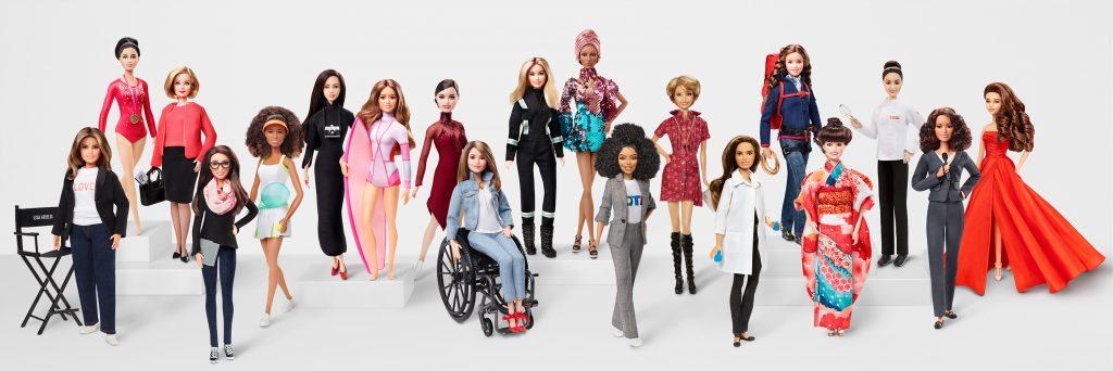 15e5076ad ... 2019 Barbie 60th Anniversary Role Model Dolls (Photo courtesy of Mattel)