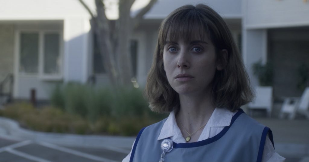 "Alison Brie in ""Horse Girl"""