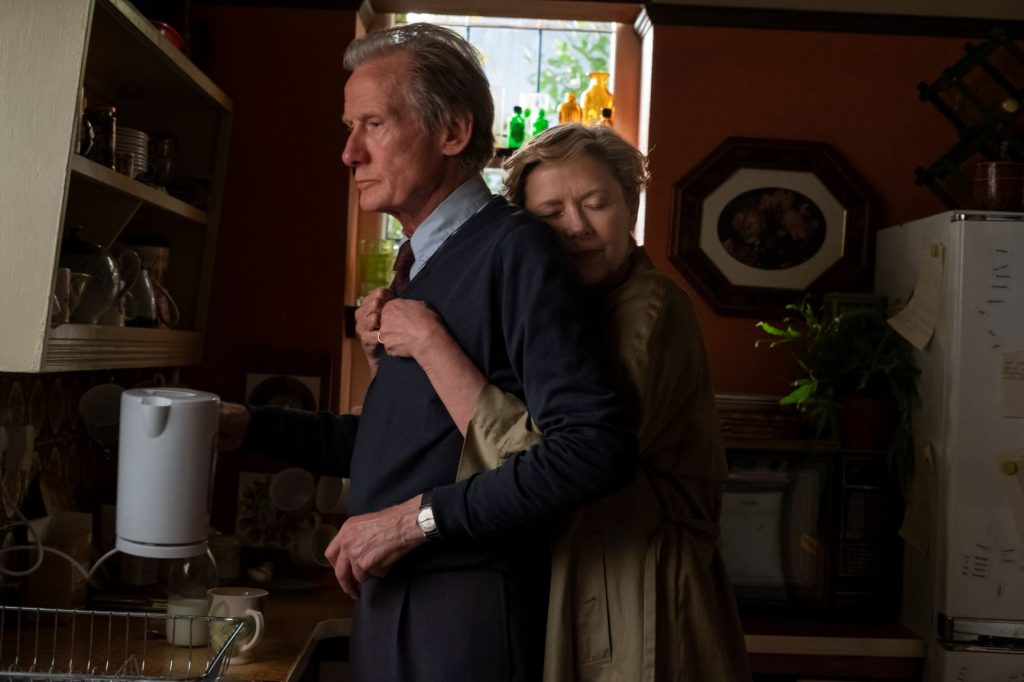 "Bill Nighy and Annette Bening in ""Hope Gap"""