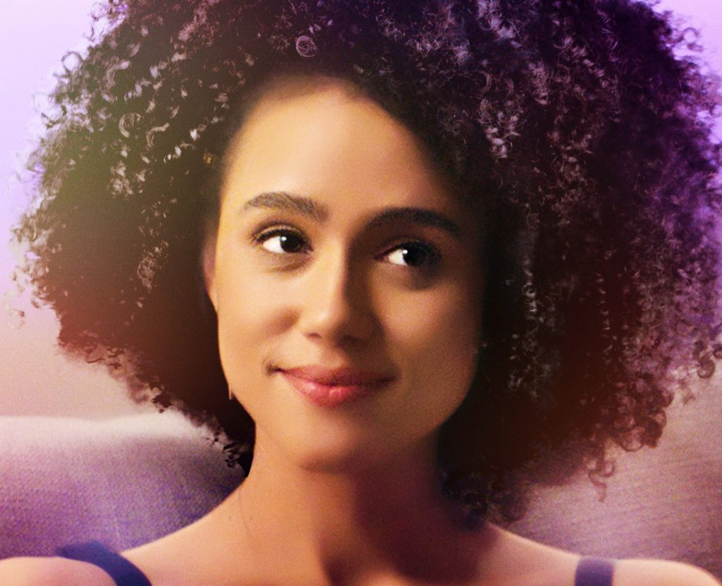 "Nathalie Emmanuel in ""Holly Slept Over"" (Photo courtesy of Sony Pictures Home Entertainment)"